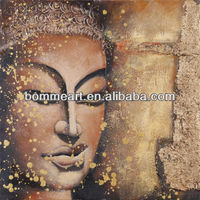 mordern buddha oil painting canvas painting for home decoration hot images