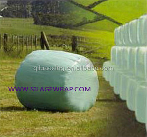 Accept custom order plastic film bale wrap plastic for packaging