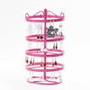 Wholesale Landing necklace candy holder toy Earring Organizer Jewelry Ring double sided metal display stand hanging display rack