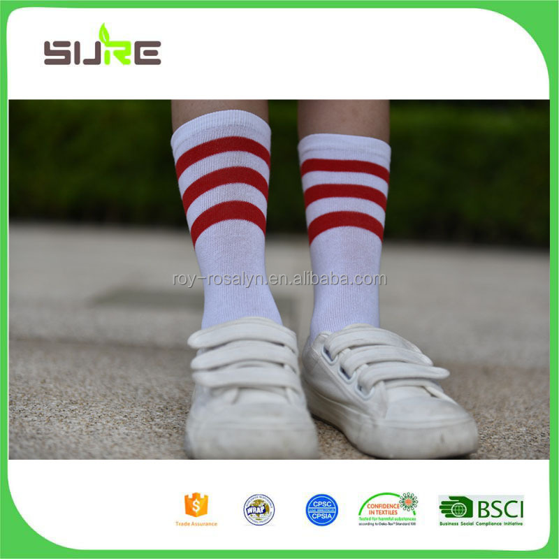Hot Selling simple design kids knee high socks directly sale