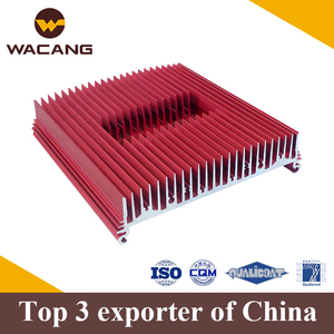 High precision cnc extruded aluminium profile heatsink product