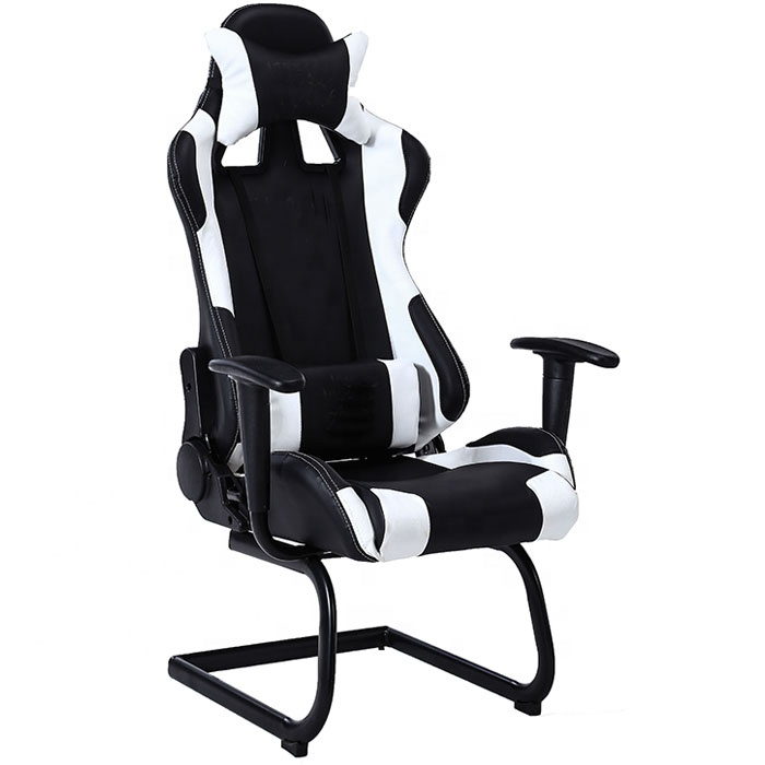 Black Office Leather Racing Seat Office Chair No Wheels - Buy Black on racing chair, race car bucket seat, wide seat office chair, car seat gaming chair, ejection seat office chair, truck seat office chair, officw car seat chair, race car office furniture, sitting in a chair, red computer chair, race car chair, racer chair, red tractor seat desk chair, car seat office chair, race seat stool, sport seat office chair, bike seat office chair, car seat recline chair, bucket seat office chair,