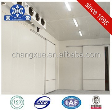 Rapid refrigerating cooling room or cold storage