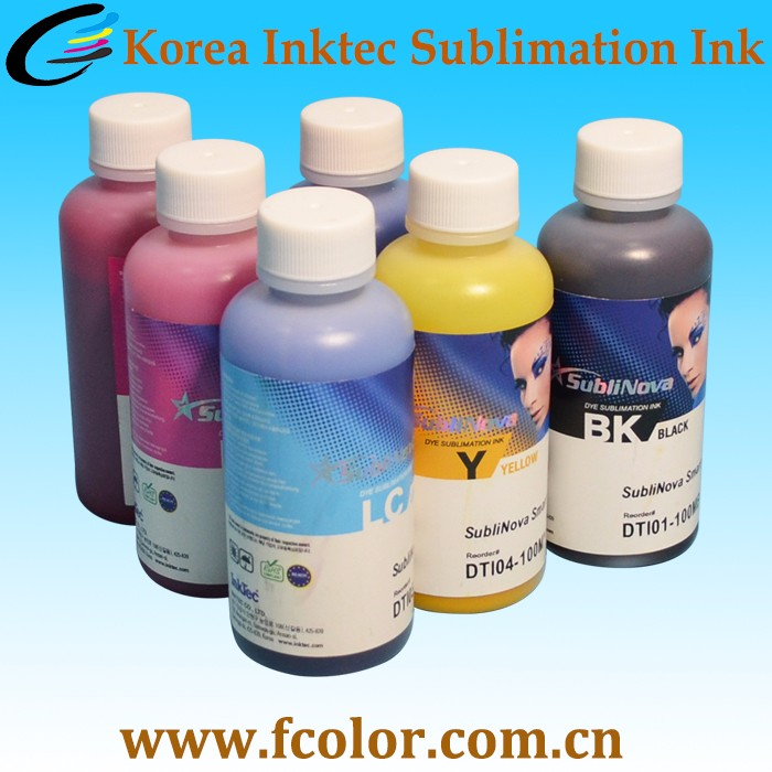 Wholesale Original From Korea Digital Inktec Dye Sublinova Sublimation Ink