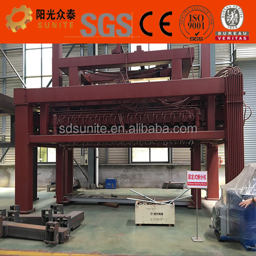 Hollow aac block machine price in China with large autoclave
