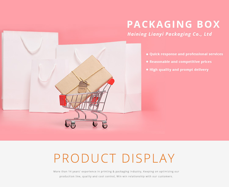New design packaging boxes and cheap color printing burger box snack box