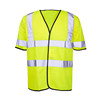 Bulk wholesale hi viz reflective safety traffic warning vest