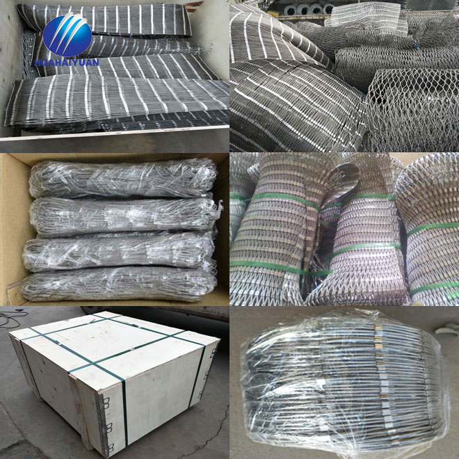 Stainless steel animal enclosure wire mesh rope aviary mesh zoo rope mesh