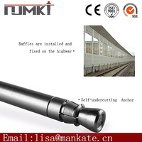 Self-undercut anchor superior zinc alloy double/single expansion anchor for construction reinforcement