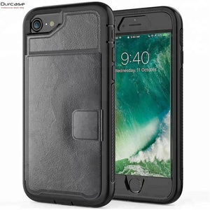 Multifunction Leather Full Protective Phone Case With Magetic Lock Card Slot For iPhone X 8 9 9Plus