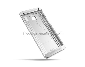All-aluminum unibody case for cell phone