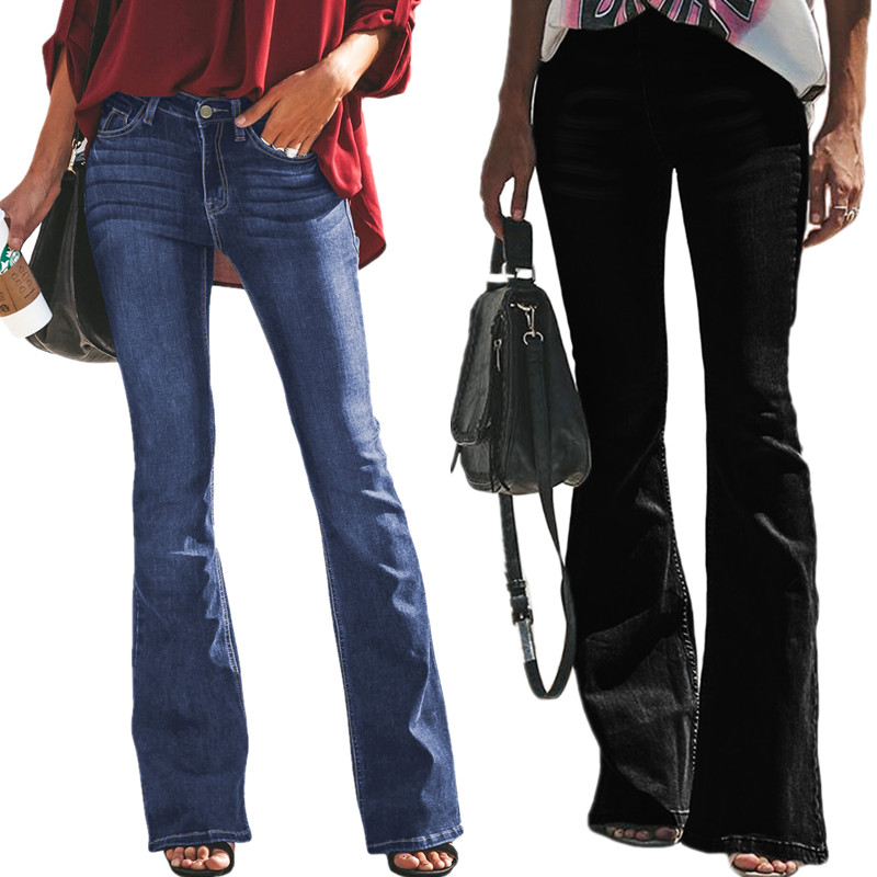 Vintage Tipo Nuevo Estilo Las Mujeres Modernas Ancho De La Pierna Pantalones Vaqueros De Las Senoras Buy Pantalones Vaqueros De Mujer Pantalones Vaqueros De Mujer Product On Alibaba Com