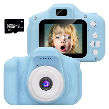 2.0inch LCD Screen 1080P HD Digital Mini Camera Carton Small Toy Camera Video Digital Camera for Children as Birthday Gift