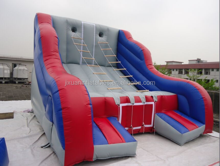 inflatable ladder climbing interactive challenge game /inflatable interactive adult game