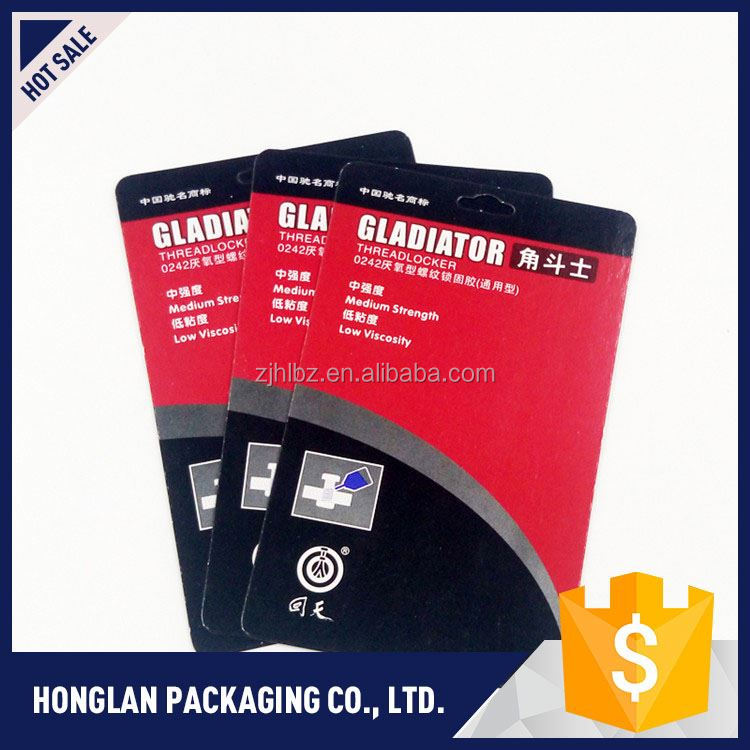 Top selling OEM design paper header cards printed wholesale price