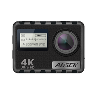 Ultra 4K HD Dual Screen Waterproof 30M Camera with Remote Control and Touch Function