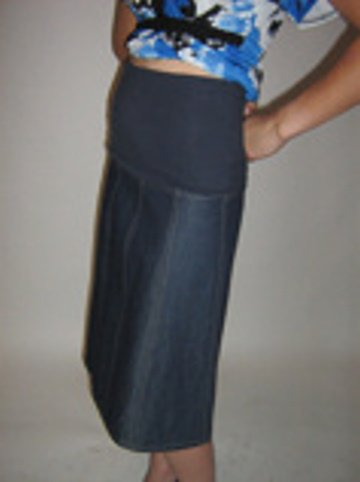 Maternity Jean Skirts - Dress Ala