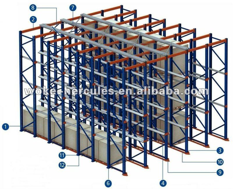 pallet stacking rack