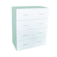 modern furniture high capacity storage 8 chest of drawer