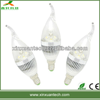 Buy led light candle E14 3W 4500K in China on Alibaba.com