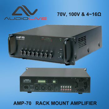 high quality amplifier AMP-70 RACK Mount Amplifier