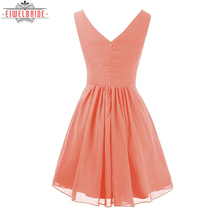 New style short modern ladies dresses evening