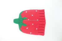 Various styles best selling kids winter knit hats with ear flaps