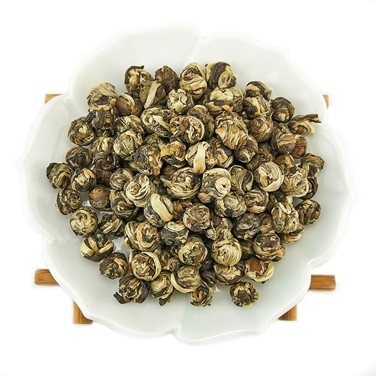 Certified organic jasmine dragon pearl <strong>tea</strong>