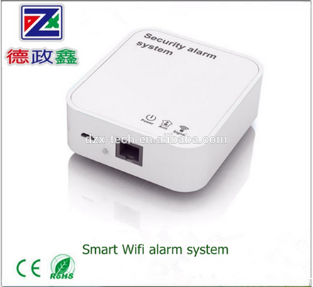 DZX smart home automation IP WIFI+GSM alarm system for APP control