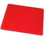 Red Pyramid Bakeware Pan Nonstick Silicone Baking Mat