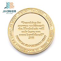 Jiabo custom metal challenge gold euro souvenir metal coin games