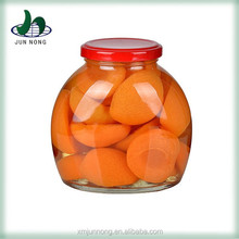 Wholesale China supplier tasty fresh canned dried peach