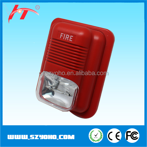 Hot sale 110dB Fire Alarm Siren / Emergency Fire Alarm Siren with Strobe Lights