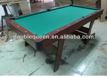 folding pool table 7ft