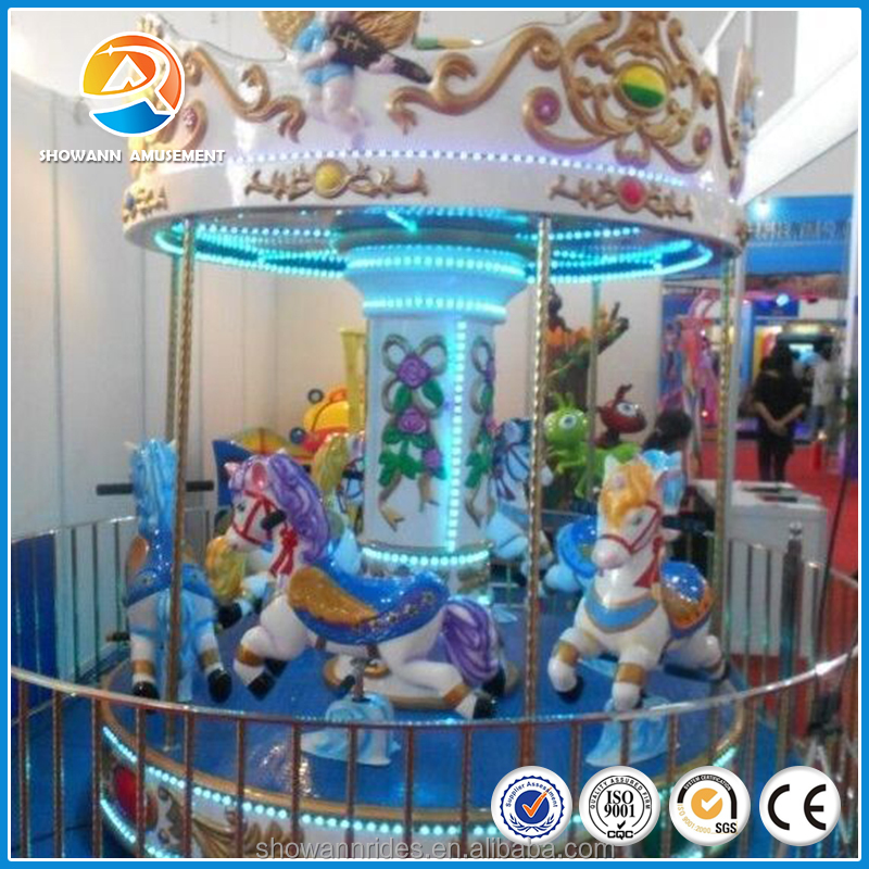 Lowest price Lovely amusement park rides vertical carousel