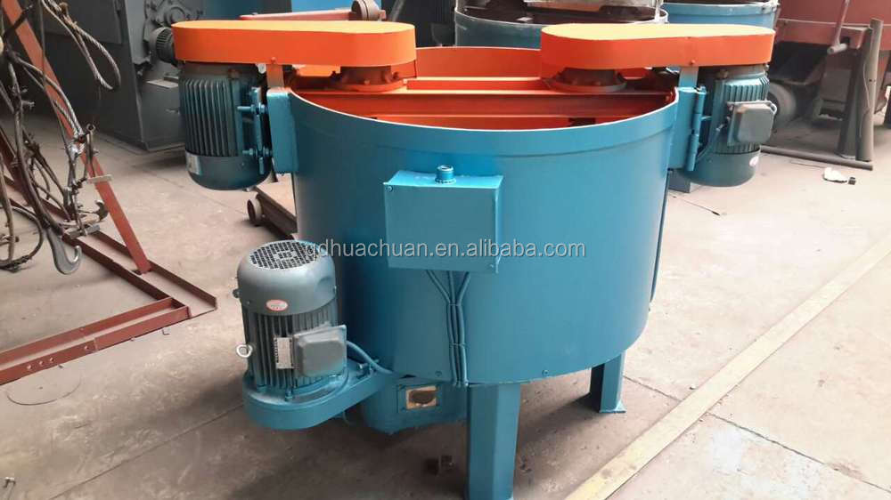 made in QDHC foundry industry used cast sand mixer /sand mixing machine