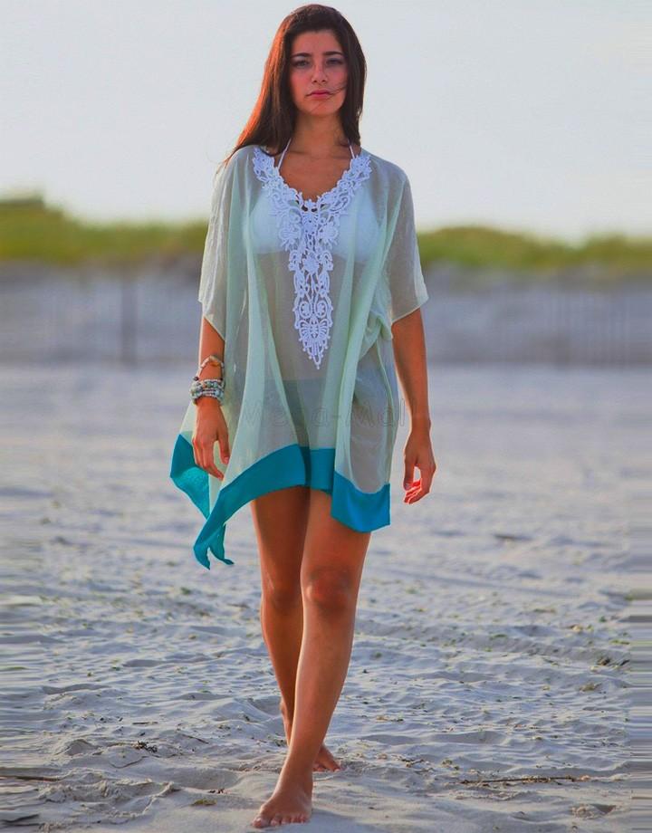 Женщины в кружево вязка крючком сексуальный купальный костюм крышка пляж верхний пляжная купальный костюм купальник халат платье бикини крышка вверх ZYQ