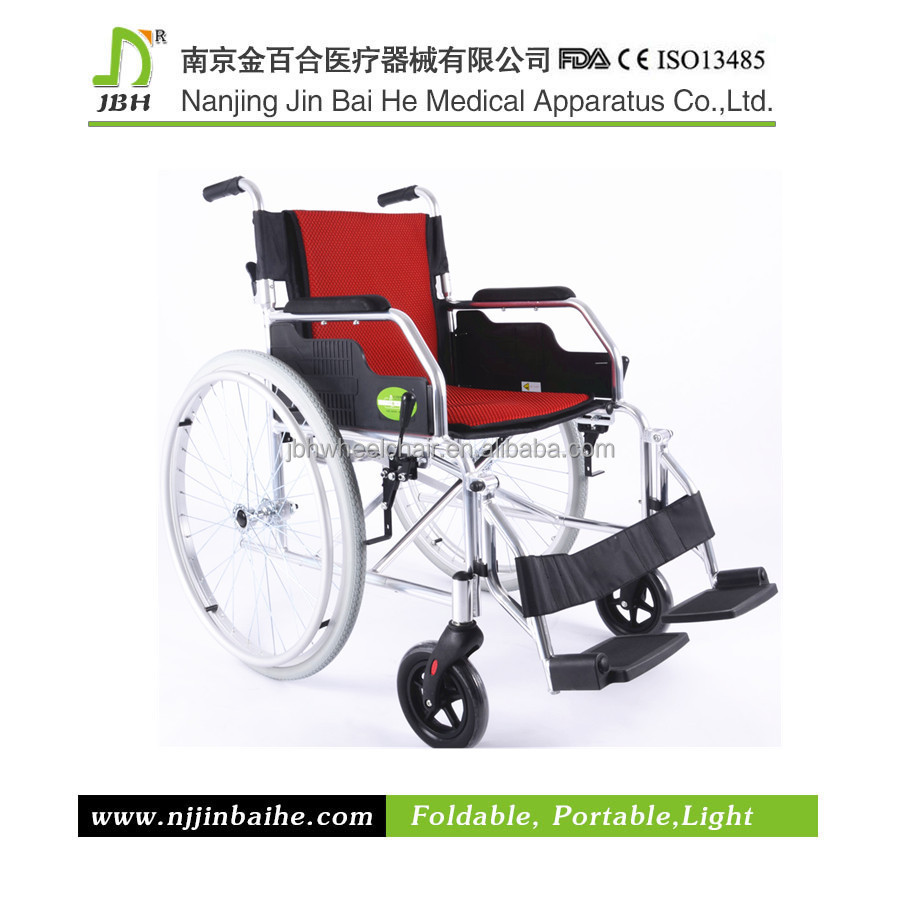 Hand brake manual wheelchair with CE