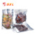 Food Packaging Clear Stand up Metalized Laminated Plastic Pouch with Zipper