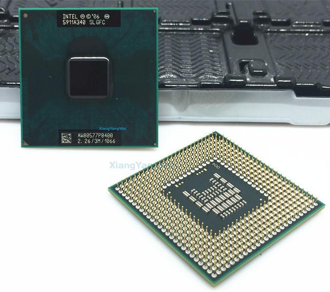 Intel Core 2 Duo P8400 CPU Laptop processor PGA 478 cpu 100% working properly фото