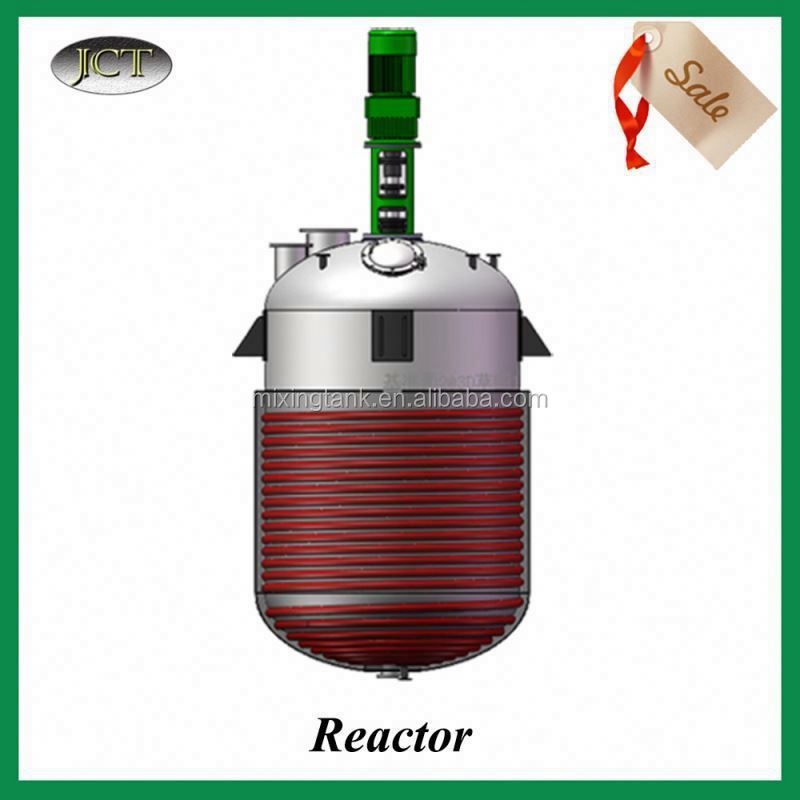 Stainless Steel Reactor Batch Manufacturer For rigid pvc granules for pipe fitting