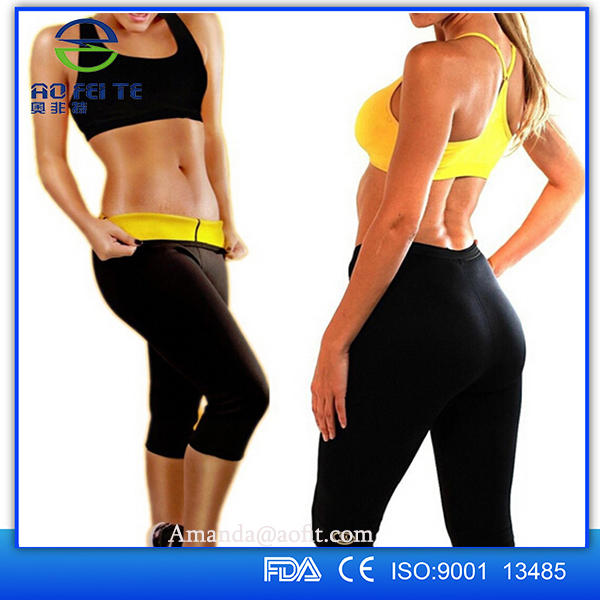 Christmas china factory wholesale neoprene body shaper pants , sport slimming body shapers
