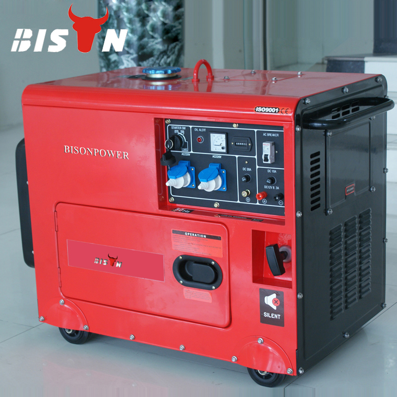 BISON(CHINA) BS6500DSE 5KW 1 Year Warranty Small MOQ Fast Delivery 5KVA Silent Diesel Generator Price In India