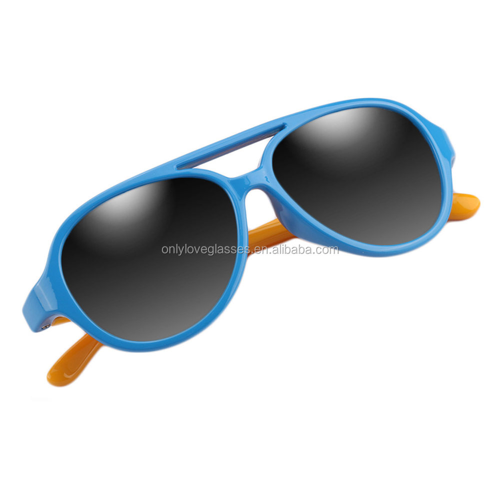 Rubber  kids polarized  sunglasses