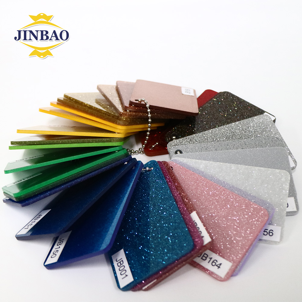 JINBAO 3mm Wholesale Colorful marble cast acrylic sheet Hot sale pattern Newest style decorative