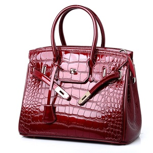 55ac42ef96 2019 Trendy women hand bag vintage faux leather shoulder bag ladies handbag
