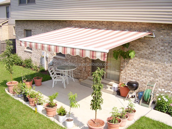 Electric Retractable Awnings/balcony Retractable Awning/sunshades