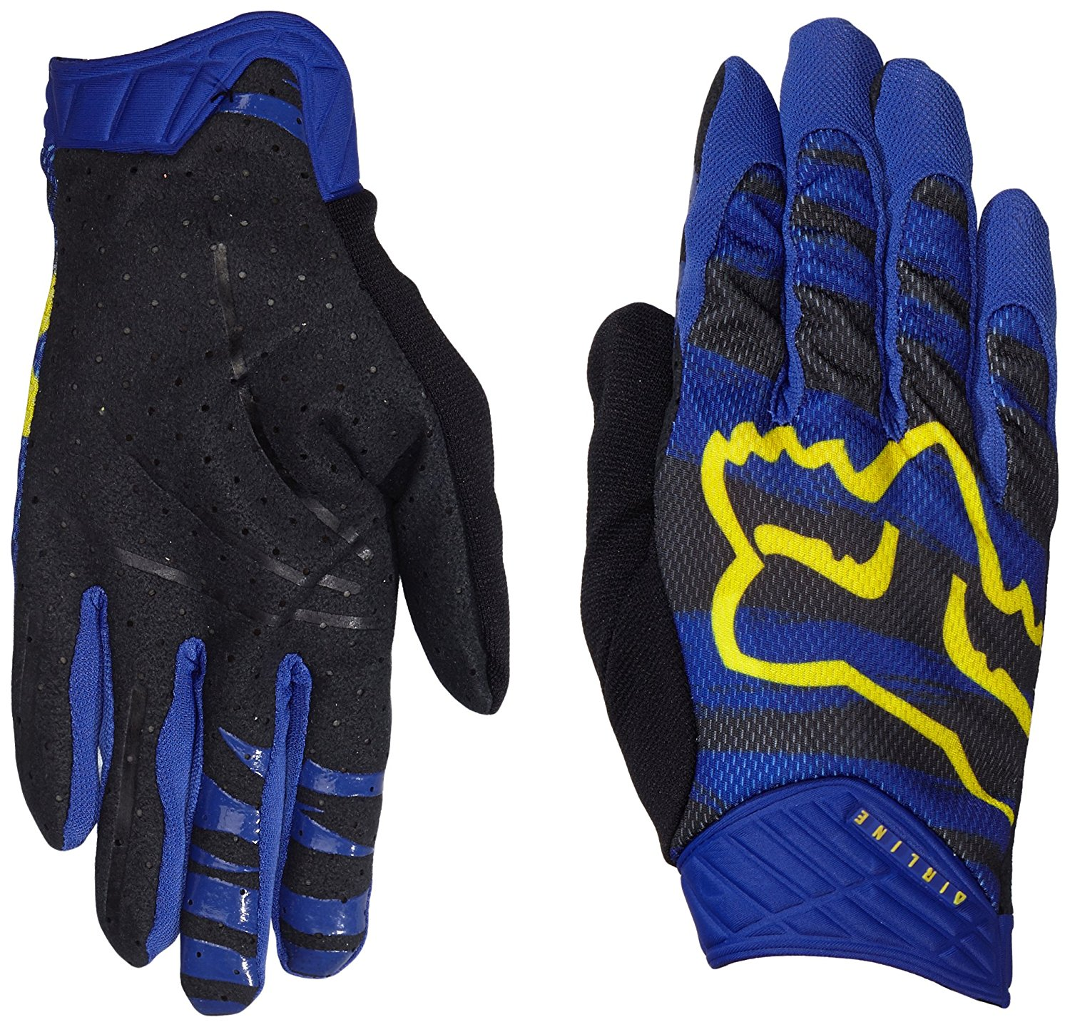 Fox Racing Marz Airline Men's Dirt Bike Motorcycle Gloves - Purple / 2X-Large