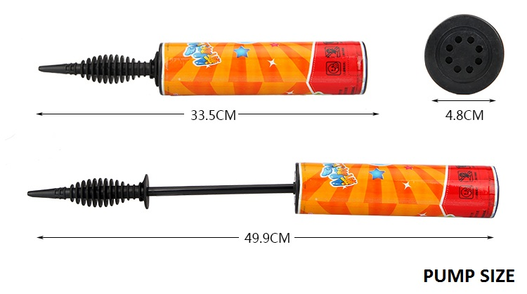 Two-way Hand Held party balloon air pump