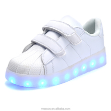 2016 Baby 7 LED Colors Children Fashion USB Charging Sneakers